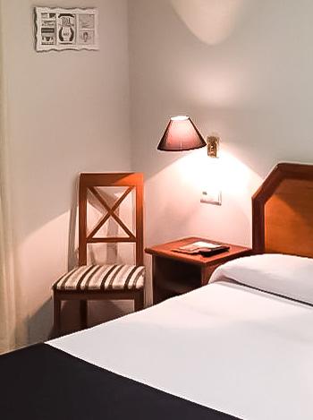 Habitación-Individual-Hotel Hispania-Zaragoza